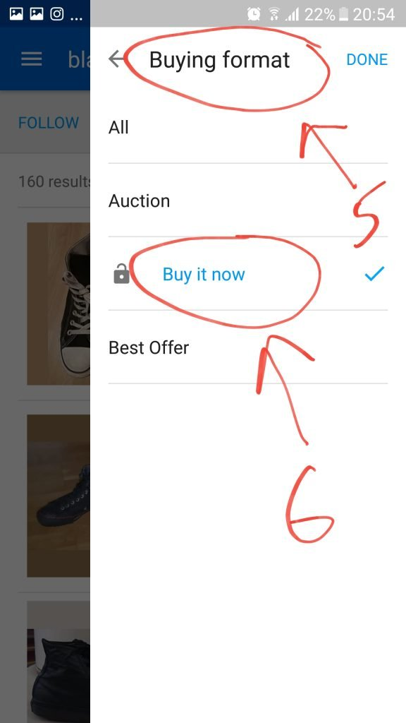 How to do completed listing search on ebay 4