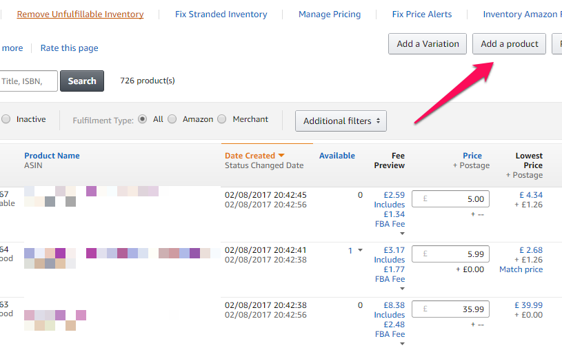 how to send in a box on amazon fba