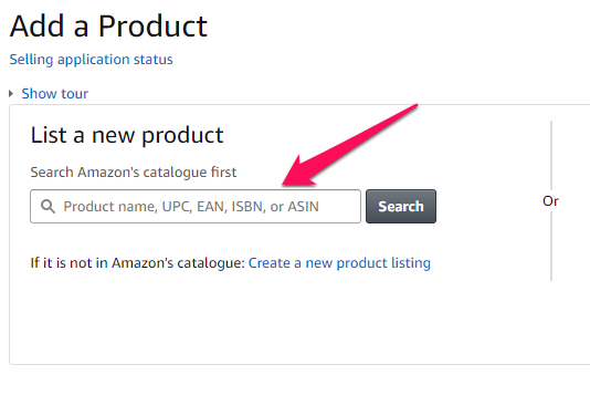 add products to amazon fba