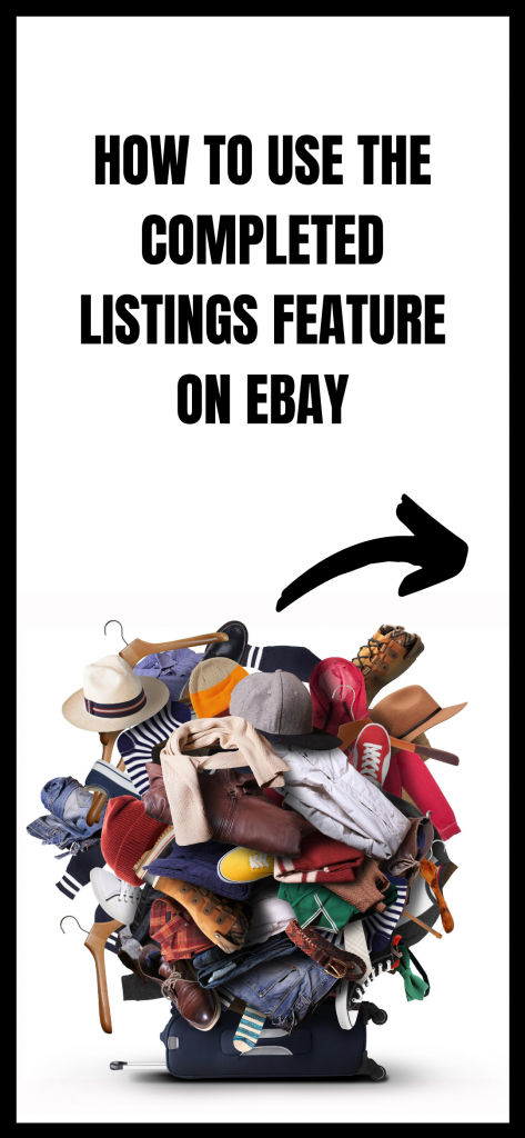 how to see completed listings on ebay