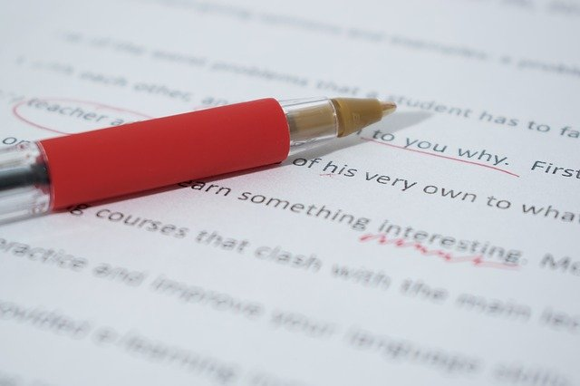 proofreading paper