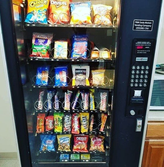 picture of a vending machine