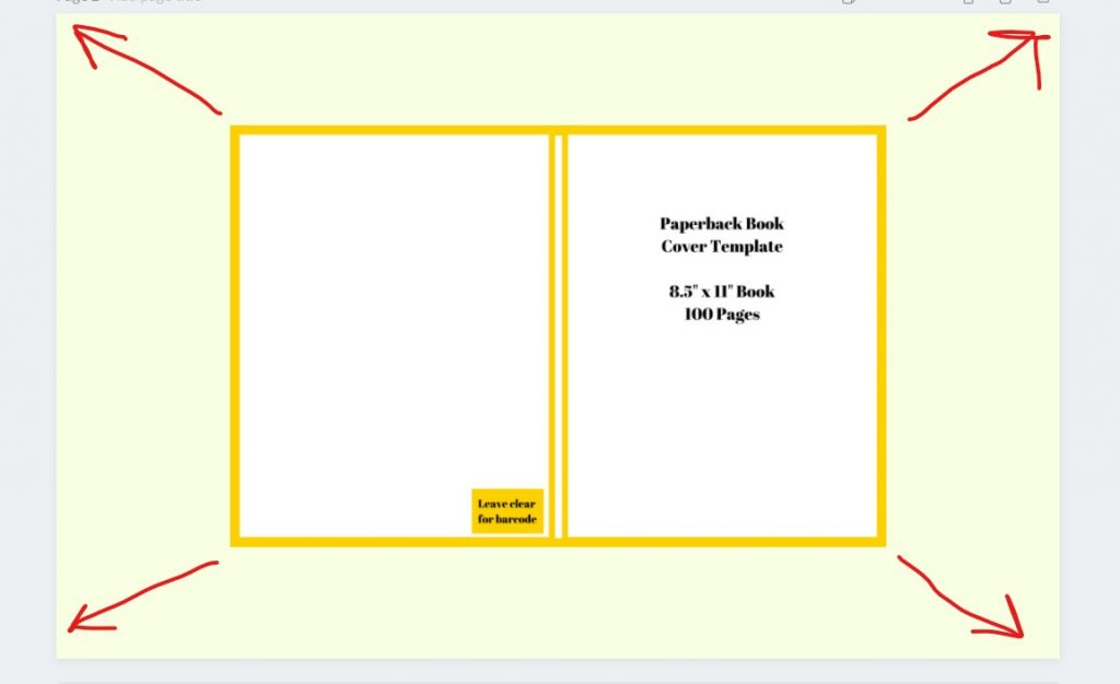 stretch template for kdp book cover